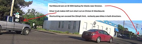 2015 over speed limit cars on clinton from 50th