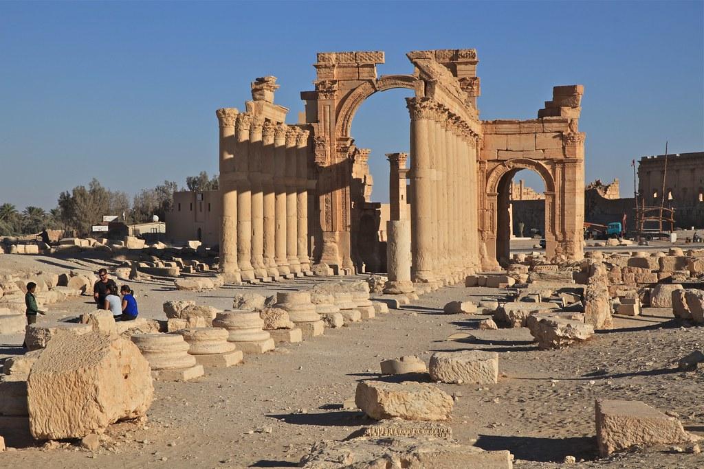Ancient City Landscapes Of Palmyra The Unesco World Herita Flickr