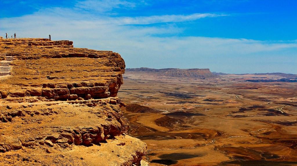 ramon crater - negev desert