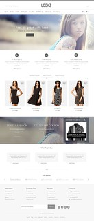 Lookz WooCommerce Parallax Theme