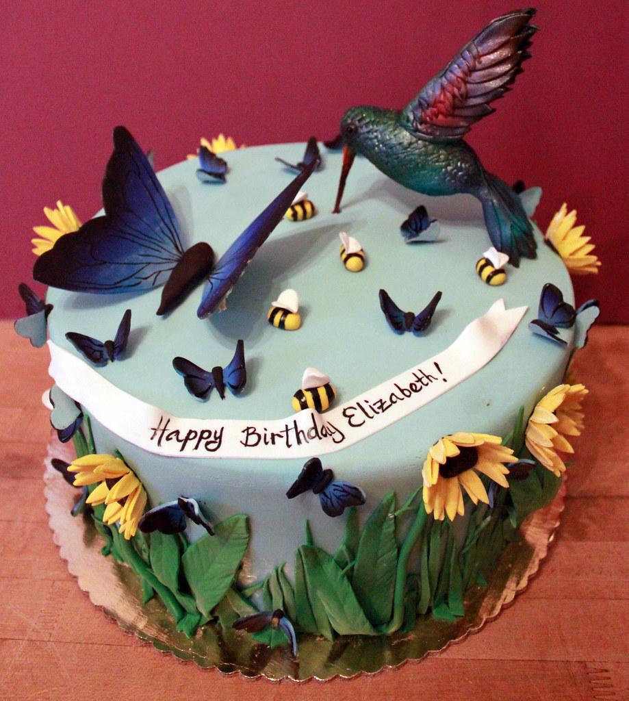 Admirable Hummingbird Cake Alliance Bakery Flickr Funny Birthday Cards Online Necthendildamsfinfo
