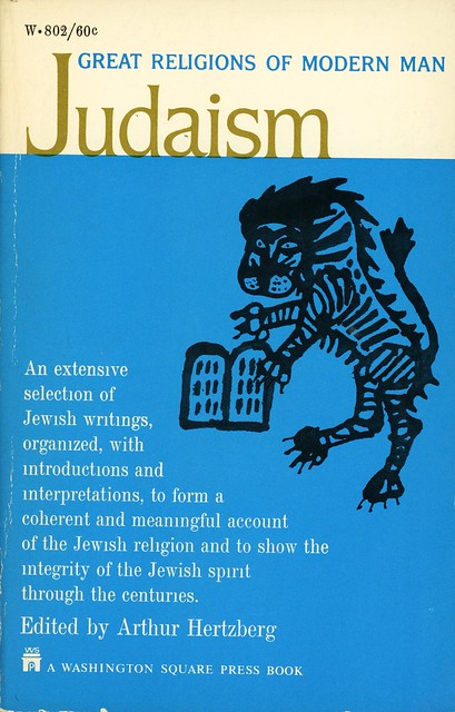 Washington Square Press W-803 - Arthur Hertzberg - Judaism
