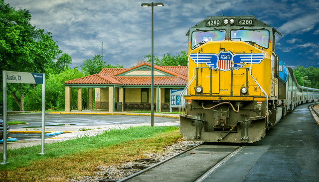 Austin, TX Train Station