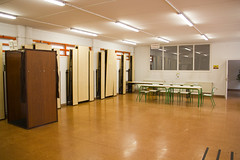 En la imagen se puede ver una vista general del Colegio San Lorenzo
