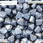 PRECIOSA Pyramids - 111 01 336 - 02010/25028 - Cool Grey