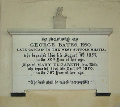 Late Captain in the West Suffolk Militia