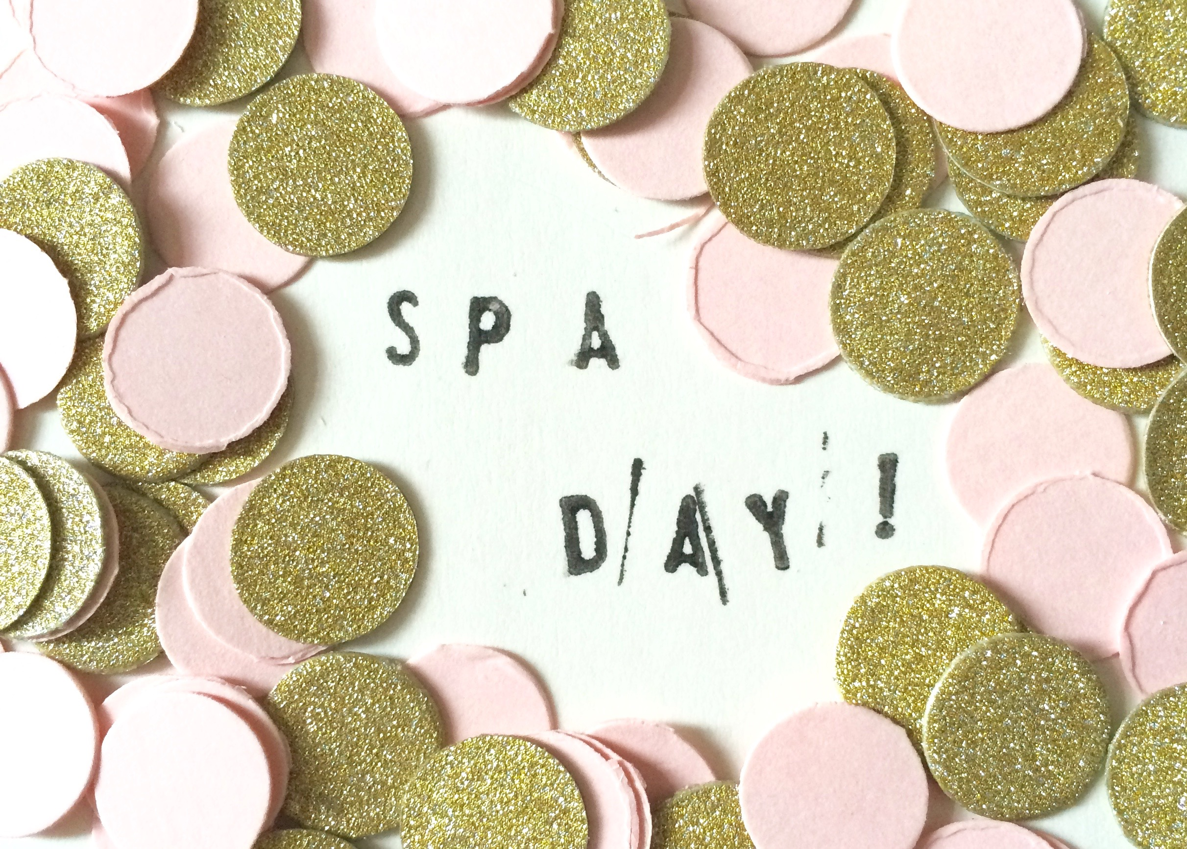 #BEDM Day 3: I Need a Spa Day