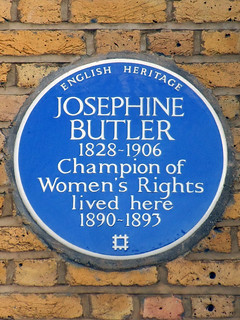 Josephine BUTLER 1828-1906 Champion of Women's Rights lived here 1890-1893 | by Spudgun67