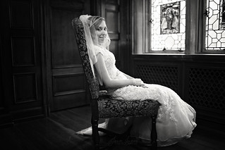 Bride in Black and White | by Jean Loper