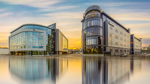 aberdeen aker solutions gdf hdr pano suez town architect chitecture building canon darren wright dazza1040 drive offices panorama panoramic reflection riverside scotland sunet 6d infinity ~themagicofcolours~vii