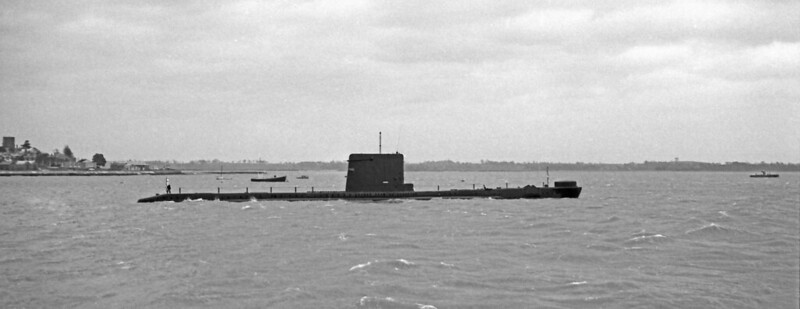 "1968 - ""A"" Class submarine, either Alderney or Astute."
