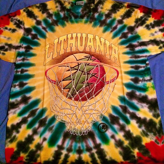 A 1992 Lithuania Men S Basketball T Shirt Yes The Gratef Flickr