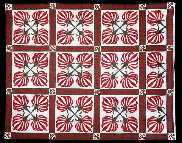 Cotton Boll Pattern Quilt 1850 1860 Cotton Boll Pattern Flickr