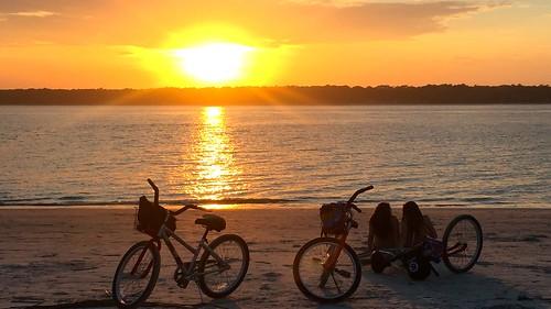 sunset beach sunrise sunsets kidsonthebeach adamhall trackhead trackheadstudios trackheadxxx