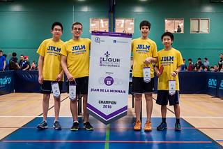 Collège Jean de la Mennais - Champion Espoir B