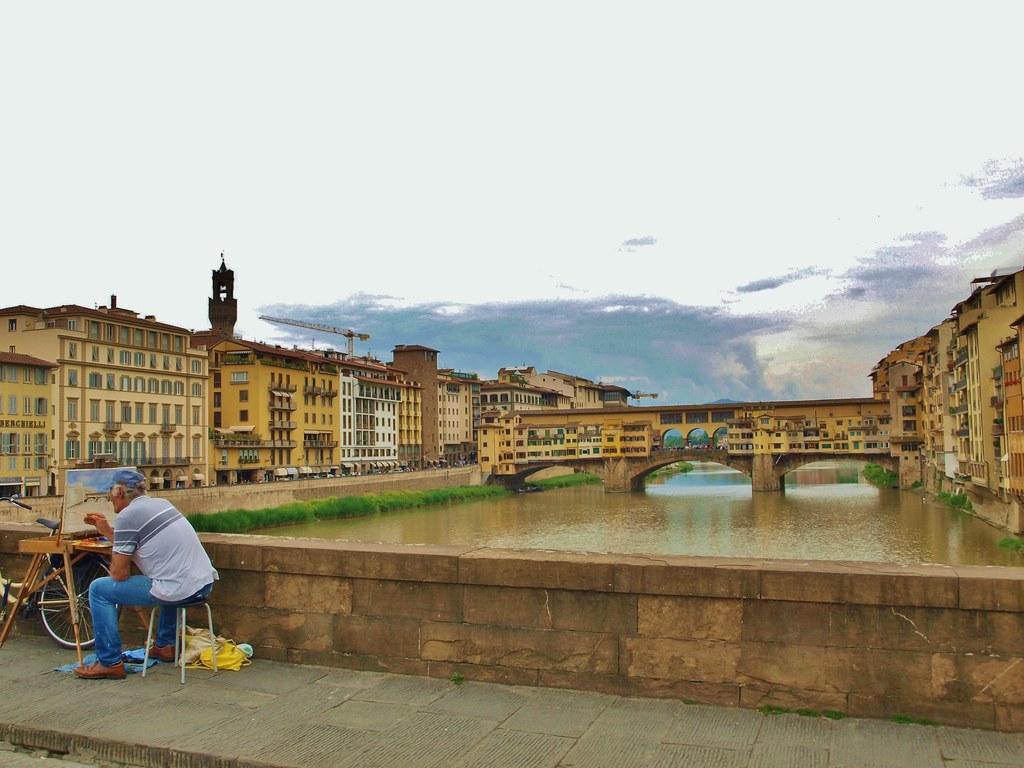 painting Ponte Vecchio | OLYMPUS DIGITAL CAMERA | Flickr