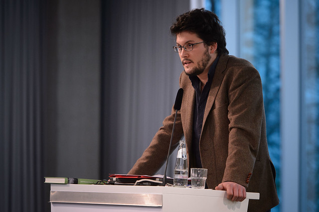 Alexander Hensel (Göttinger Institut für Demokratieforschung), Foto: Stephan Röhl