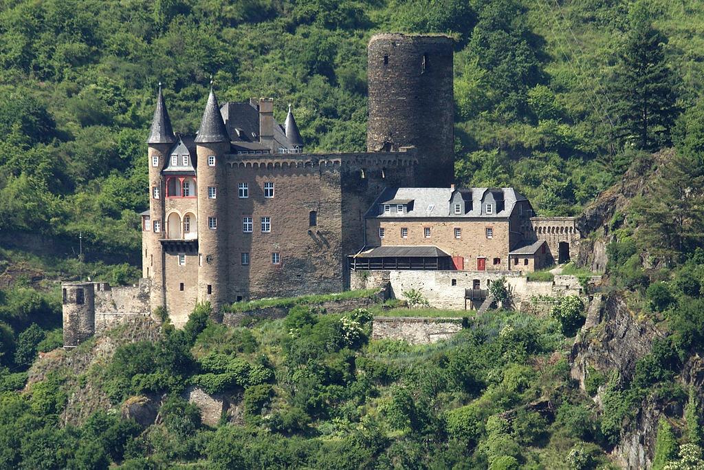 Sankt Goarshausen: Burg Katz