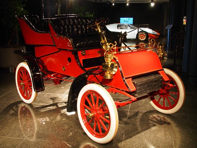 1903 Ford Model A Rear Entry Tonneau (At the Blackhawk Museum) 3