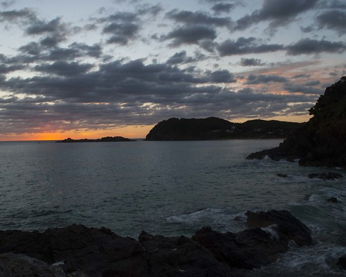 seal rocks beach sunrise nsw new south wales peterspradbrow