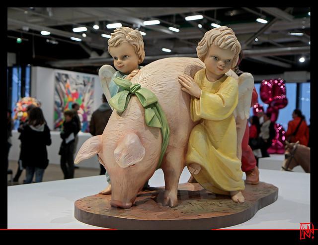 Jeff koons, de l'art ou du cochon ?