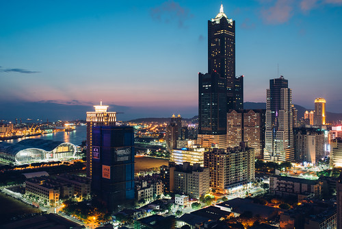 sunset taiwan kaohsiung 夕陽 夜景 日落 晨昏 港都