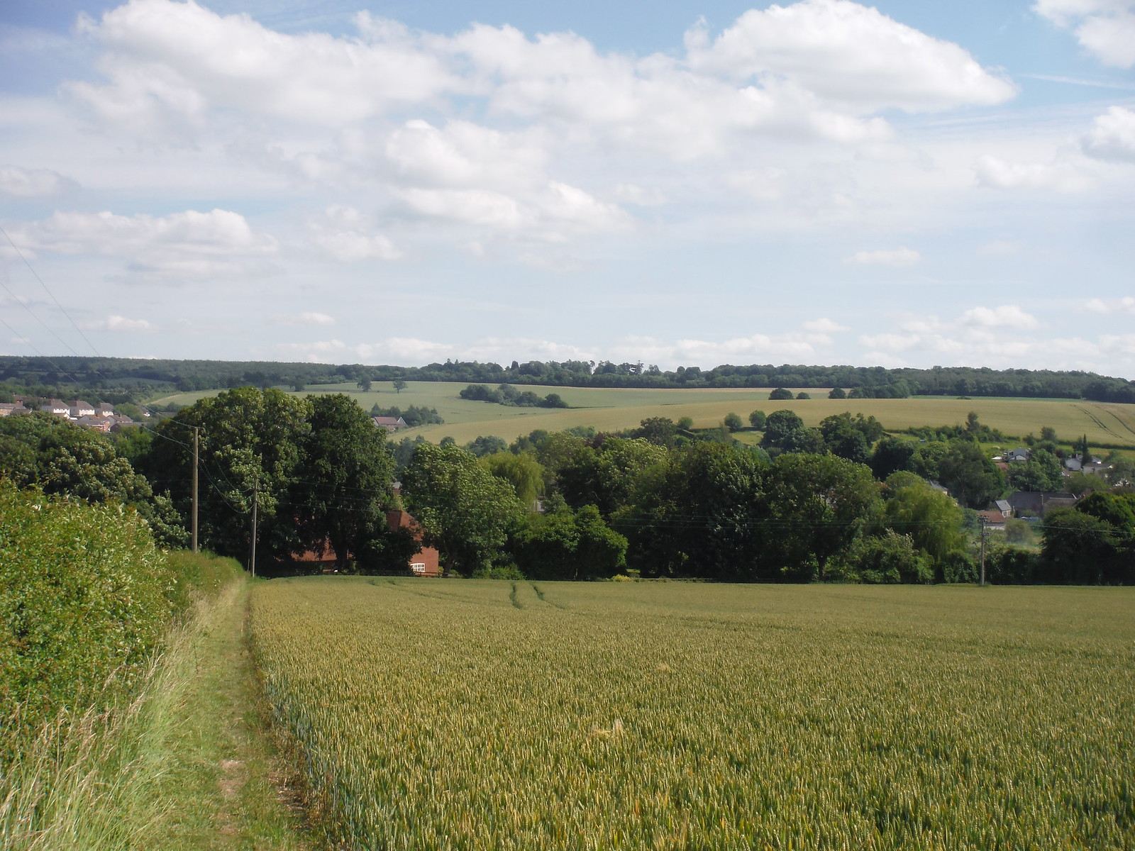 King's Somborne, down in the valley SWC Walk 265 - Dean to Mottisfont and Dunbridge