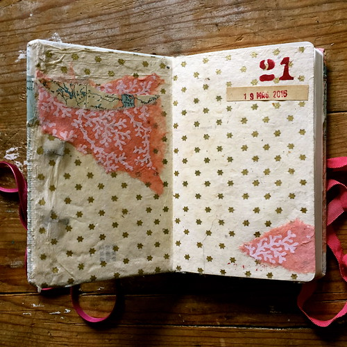 Margots Birthday Book Front Inside Cover | by heardmyself
