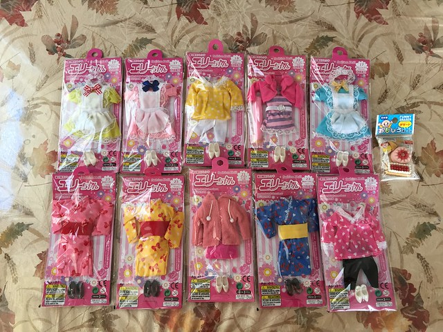 Daiso Elly Chan clothes