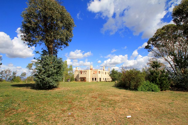 Mt Stromlo Directors Residence Remains