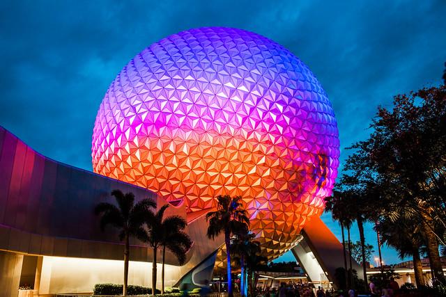 Epcot Spaceship Earth Walt Disney World