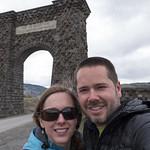Roosevelt Arch with Kristen