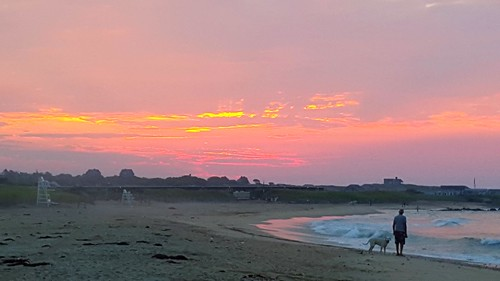 beach sunrise montauk ditchplains