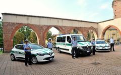 INAUGURAZIONE DI TRE MEZZI DELLA POLIZIA LOCALE  08 SETTEMBRE 2015  Foto A. Artusa
