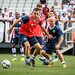 Corinthian-Casuals Training in Arena Corinthians