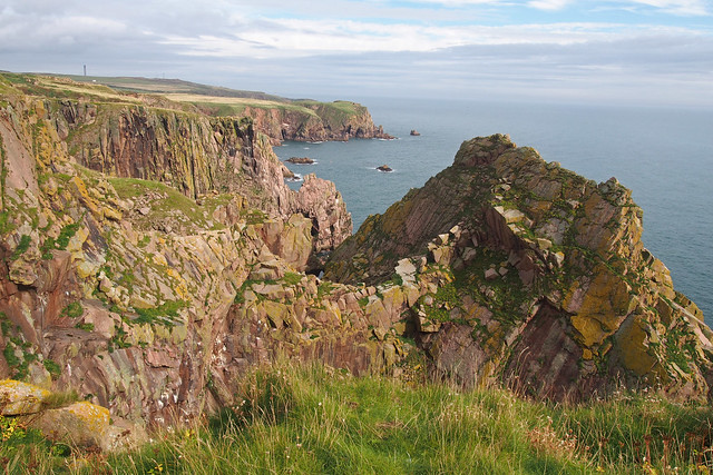 The Aberdeenshire Coast south of Boddam