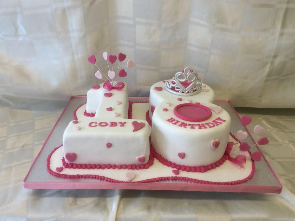 Cool 18Th Birthday Cake 18Th Birthday Cake In Red Velvet And Ch Flickr Funny Birthday Cards Online Alyptdamsfinfo