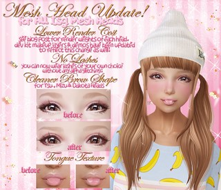 .tsg. Mesh Head Updates | by Eilfie Sugarplum
