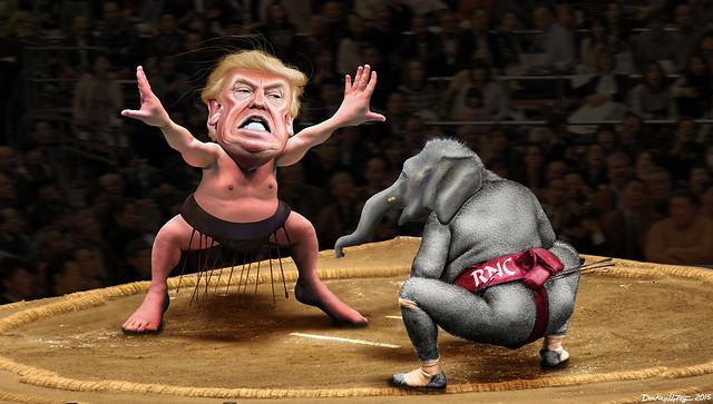 Yokozuna Trump vs. The RNC