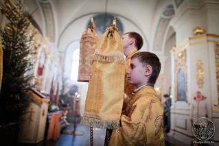 Литургия в Покровском соборе 185
