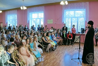 Рождественский концерт в школе 125