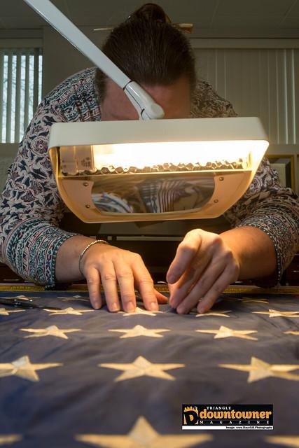 Textile Conservator Paige Myers