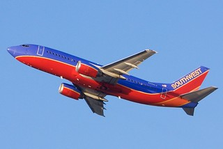 Southwest Airlines Boeing 737-300, Canyon Blue, no winglets DSC_20064 | by wbaiv