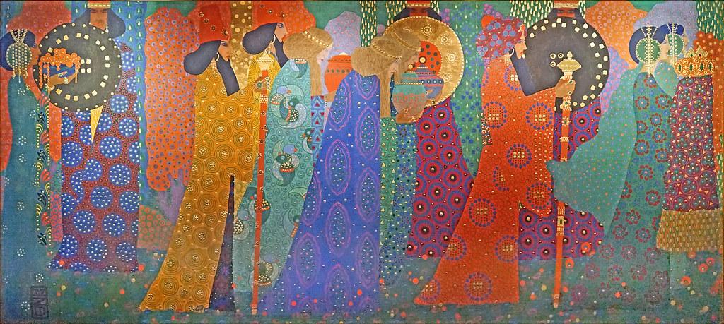 """Les mille et une nuits"""" de Vittorio Zecchin (musée d'Orsa…   Flickr"""