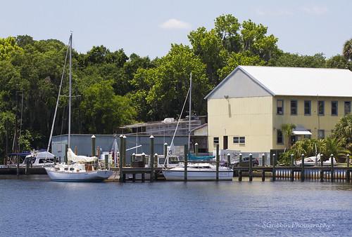 water sailboat marina canon river landscape boats outdoors scenery florida boathouse palatka stjohnsriver