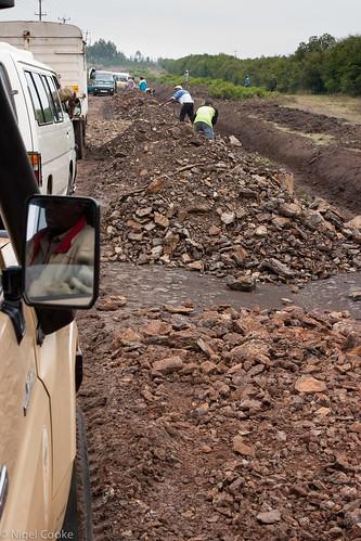 africa road holiday view kenya transport safari