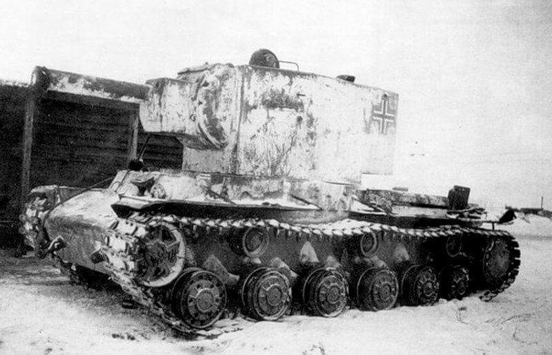 Another captured KV-2.