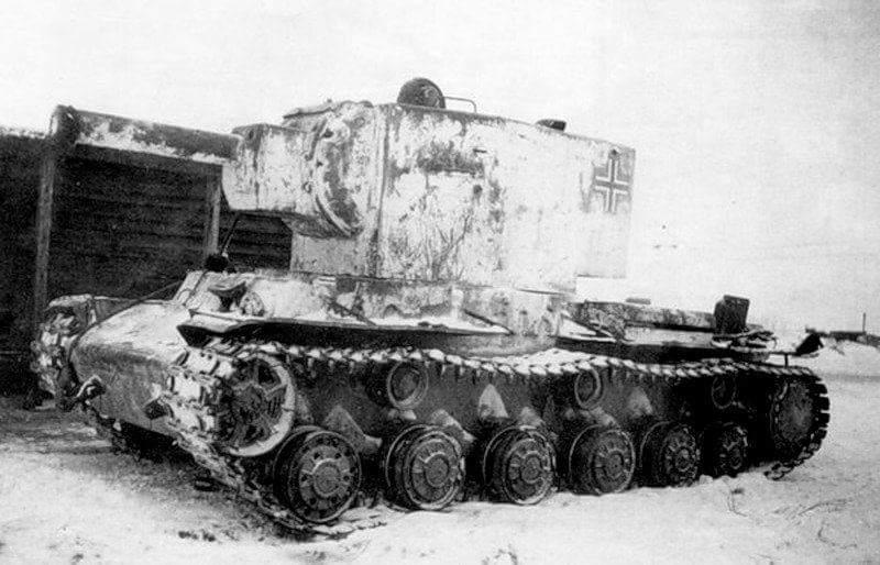另一个捕获的KV-2。