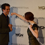 "Ashley Zukerman & Rachel Brosnahan at WGNAmerica's ""Manhattan"" Emmy's For Your Consideration Event - DSC_0729"