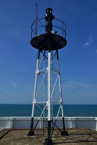 圖5.富貴角燈塔前方的「霧笛」,也是首次在台灣出現的航路標識。
